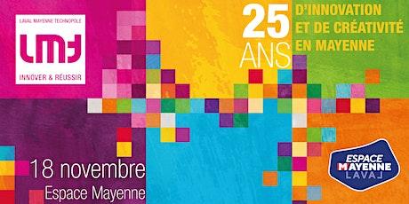 Soirée anniversaire des 25 ans de Laval Mayenne Technopole billets