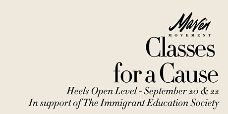Classes for a Cause - Maven Heels Open - September 20 & 22 tickets