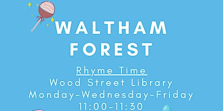 Rhyme Time at Wood Street Library tickets