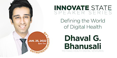 Innovate State: Defining the World of Digital Health tickets