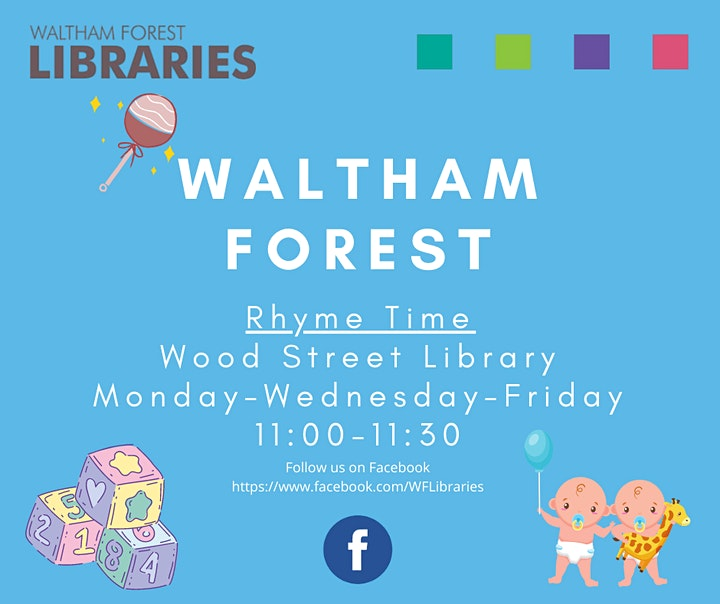 Rhyme Time at Wood Street Library image