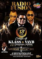 RADIO FUSION'S 13TH ANNIVERSARY CELEBRATION : KLASS & VAYB tickets