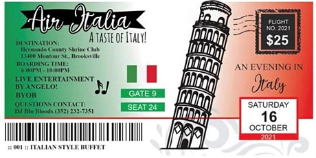 A Taste of Italy tickets