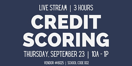 Credit Scoring: Best Practices for your Clients tickets