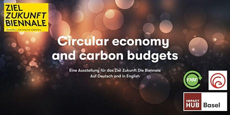 Circular economy and carbon budgets tickets