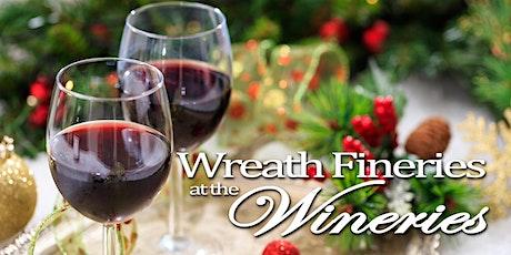 Wreath Fineries at the Wineries  start at Baldwin Vineyard SUNDAY tickets