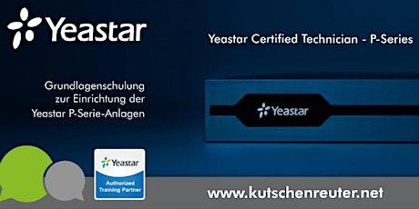 Yeastar Technikerschulung  P-Serie / Yeastar Certified Technician Tickets