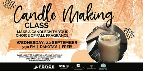 EAFB - Candle Making Class tickets
