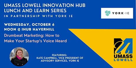 Drumbeat Marketing: How to Make Your Startup's Voice Heard tickets