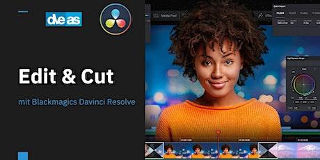 Blackmagic Davinci Resolve - Edit & Cut Tickets