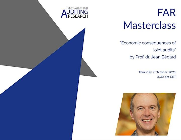 Online FAR Masterclass by Prof. dr. Jean Bédard image