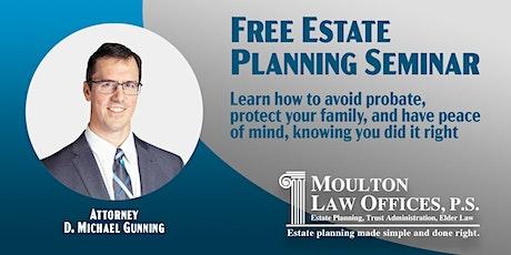 Estate Planning Seminar (CDA) tickets