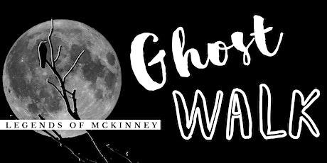 Legends of McKinney Ghost Walk tickets