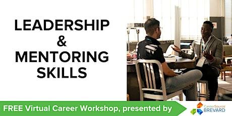 Leadership and Mentoring Skills tickets