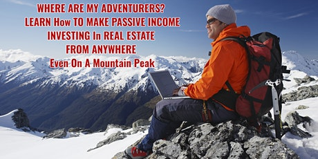 Learn To Invest In Real Estate From Anywhere - Intro (Zoom) tickets