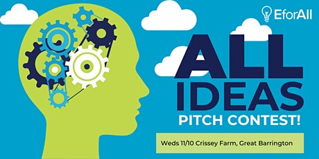 EforAll Berkshire County Fall 2021 Pitch Contest tickets