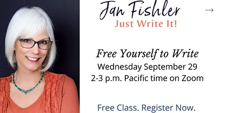 Free Yourself to Write with Jan Fishler tickets