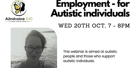 Employment for Autistic Individuals tickets