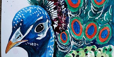 Thursday Art Club: Peacock tickets