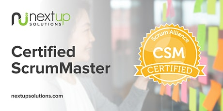 Certified ScrumMaster (CSM) Training (Virtual) Tickets