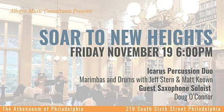 Allegro Presents: Soar to New Heights Chamber Music Concert tickets