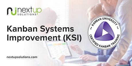 Kanban Systems Improvement (KSI) Training - Formerly KMP II (Virtual) billets