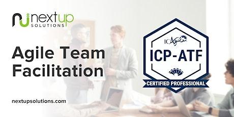Agile Team Facilitation (ICP-ATF) Training (Virtual) - Guaranteed to Run tickets