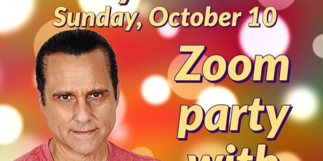 Zoom party - with the one and only Maurice Benard tickets