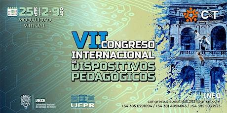 7mo CONGRESO INTERNACIONAL DE DISPOSITIVOS PEDAGÓGICOS entradas