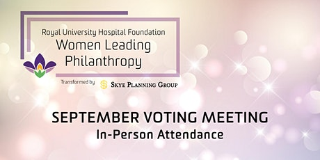 Women Leading Philanthropy September In-Person Event tickets