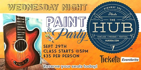 Paint Party at The Hub30A tickets