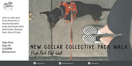 New Collar Collective PACK WALK tickets