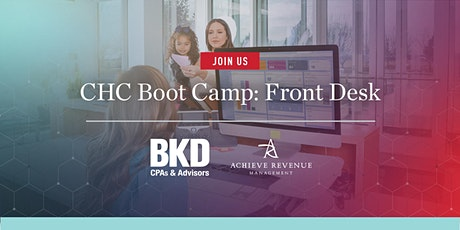 CHC Boot Camp: Front Desk tickets