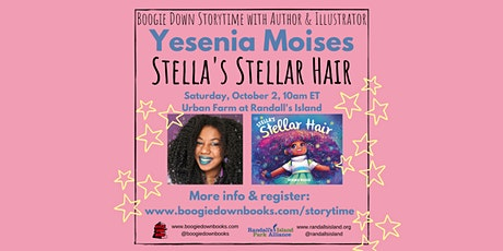 Boogie Down Storytime and Author Event at Randall's Island (October 2,10am) tickets