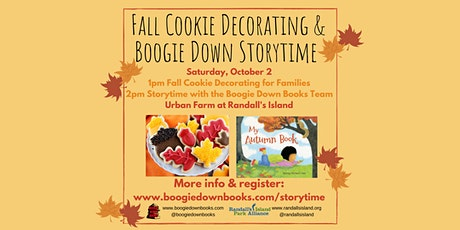 Fall Cookie Decorating and Storytime at Randall's Island (October 2, 1-3pm) tickets