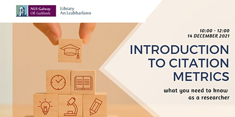 Introduction to citation metrics – what you need to know as a researcher tickets