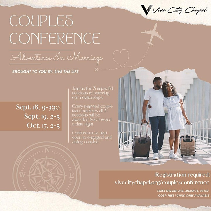 Couples Conference: Adventures In Marriage image