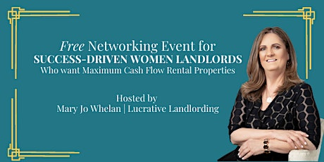 Virtual Networking Event for Success Driven Women  Landlords tickets
