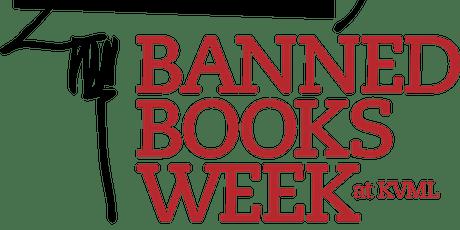 Banned Books Week Day 2 - Banning Art  - Virtual Pass tickets