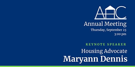 Affordable Housing Coalition Annual Meeting tickets