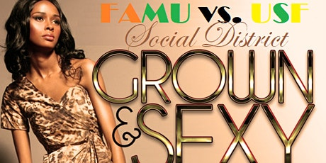 the SOCIAL DISTRICT: famu vs usf TAMPA CLASSIC  grown n sexy after party tickets