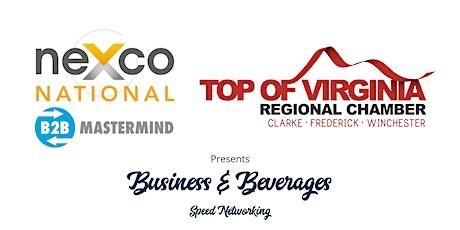neXco National & Top of Virginia Regional Chamber B2B Speed Networking tickets