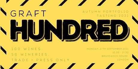 The Graft Hundred: Our Autumn Portfolio Tasting tickets