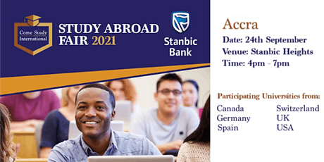 Study Abroad Fair - Accra tickets