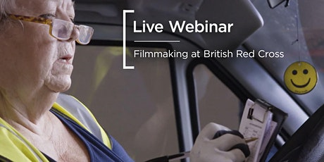 Live Webinar | Filmmaking with the British Red Cross tickets