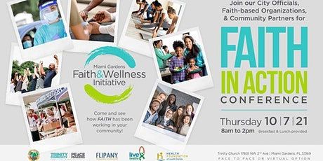 Miami Garden's Faith and Wellness Conference tickets