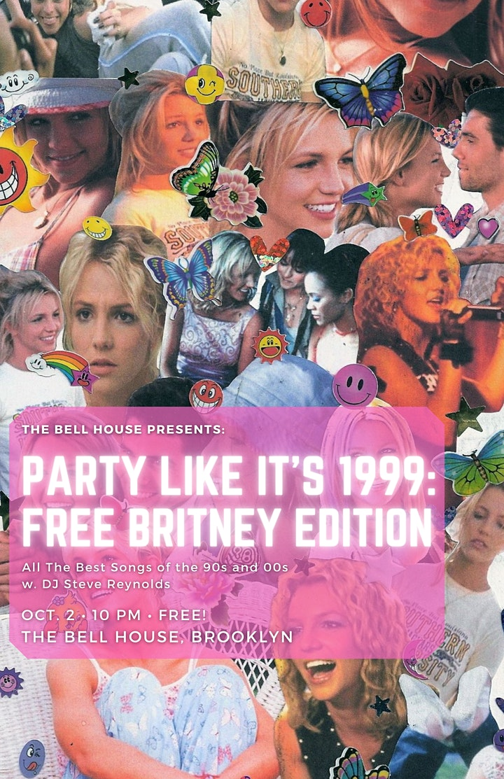 Party Like It's 1999: Free Britney Edition image