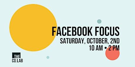 Facebook Focus tickets