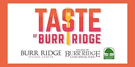 Taste of Burr Ridge tickets