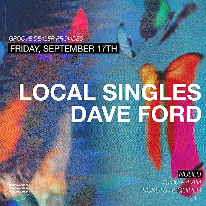 Groove Dealer Provides: Local Singles & Dave Ford @ Nublu image